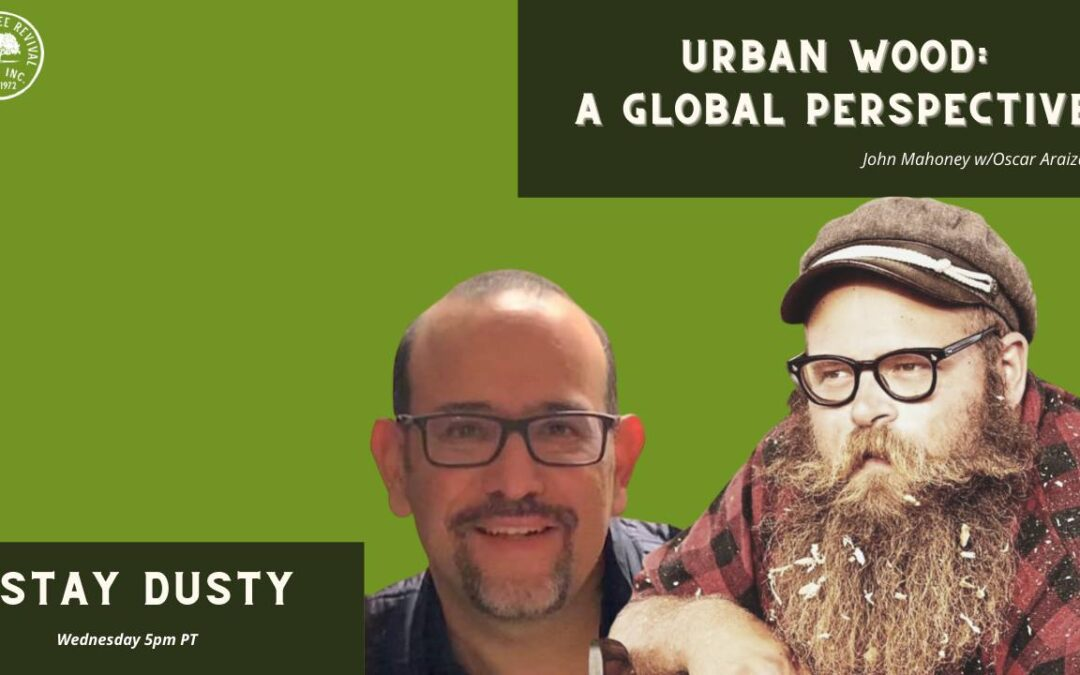 Stay Dusty #4  Urban Wood: A Global Perspective w/Oscar Araiza