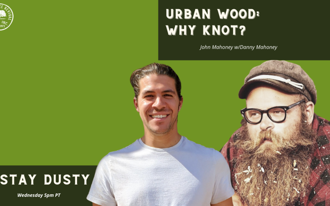Urban wood….. Why knot?